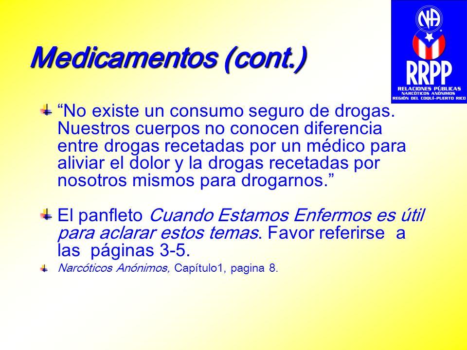 Medicamentos (cont.)