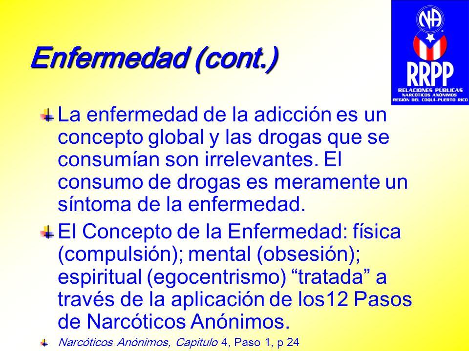 Enfermedad (cont.)