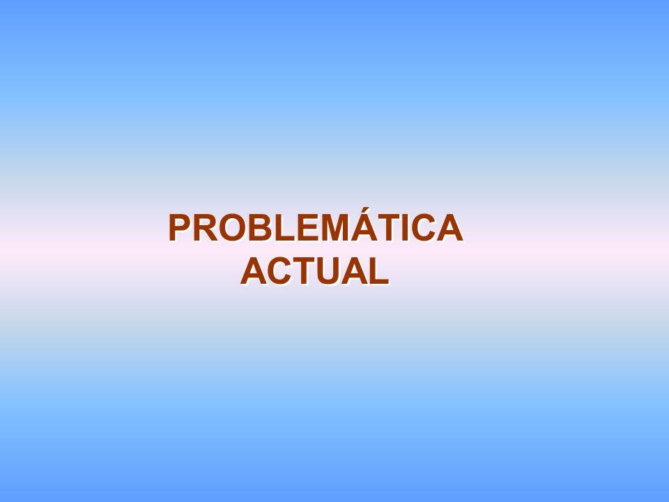 PROBLEMÁTICA ACTUAL
