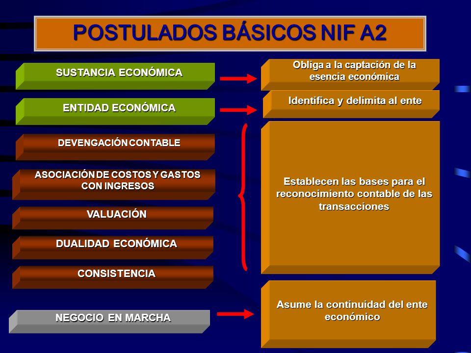 POSTULADOS BÁSICOS NIF A2