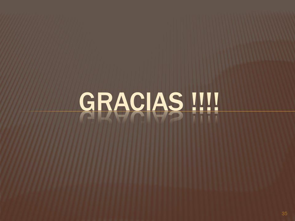 Gracias !!!! 35