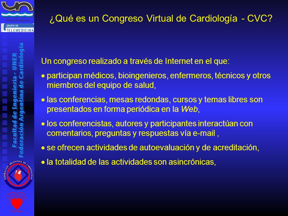 ¿Qué es un Congreso Virtual de Cardiología - CVC