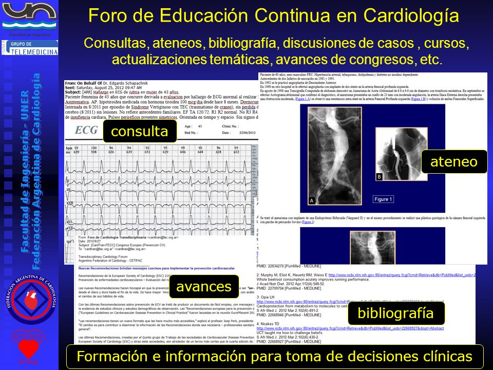 Foro de Educación Continua en Cardiología