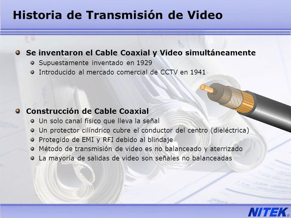 Historia de Transmisión de Video