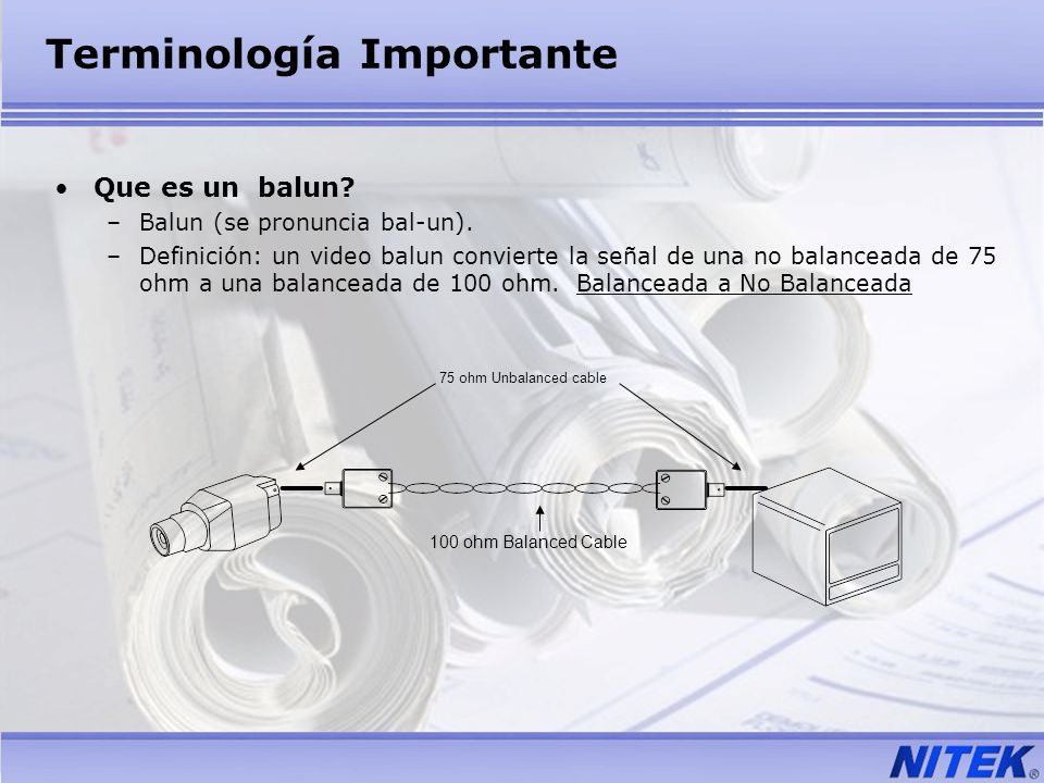 Terminología Importante