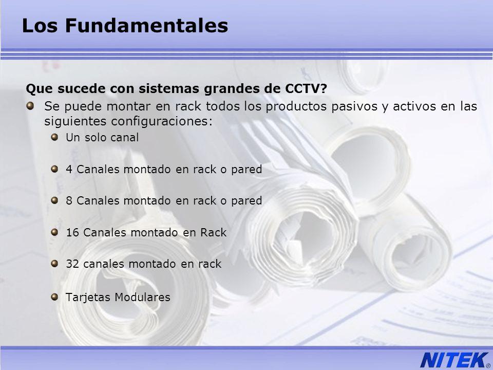 Los Fundamentales Que sucede con sistemas grandes de CCTV