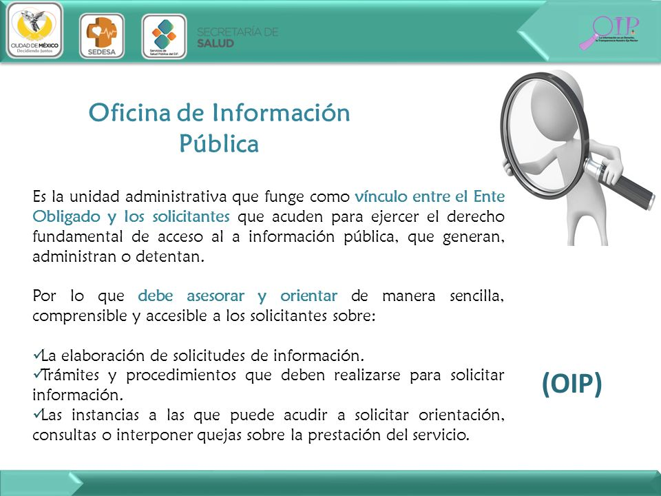 Oficina de Información Pública