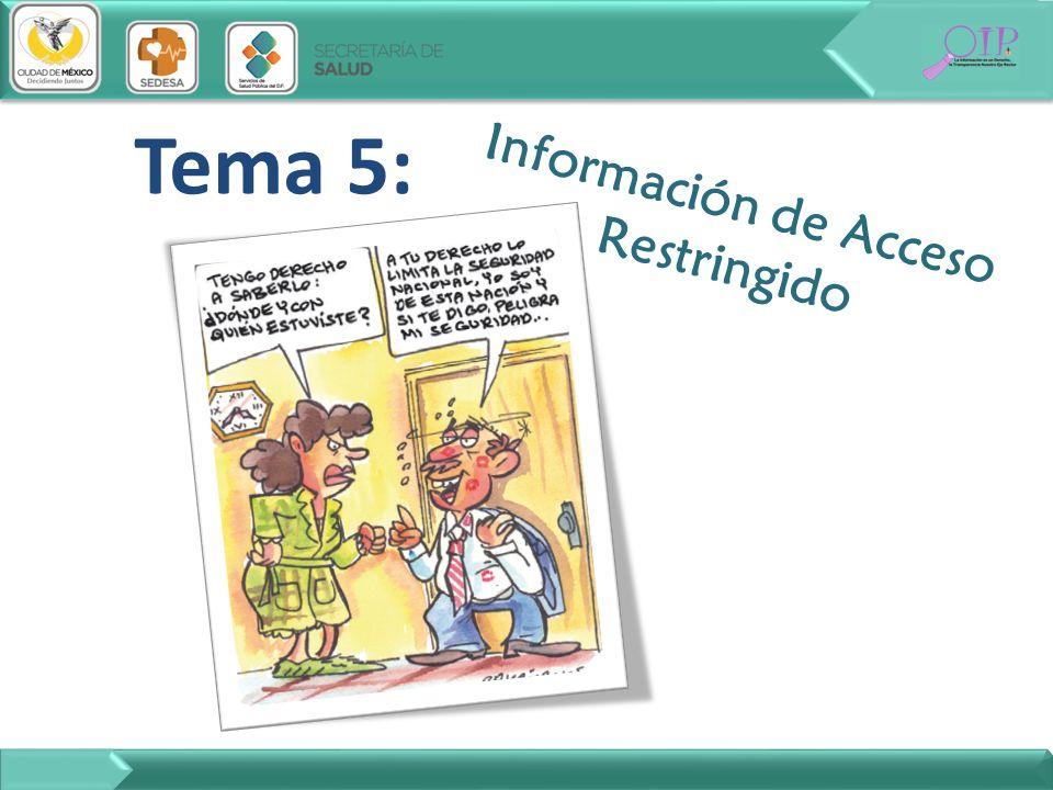 Información de Acceso Restringido