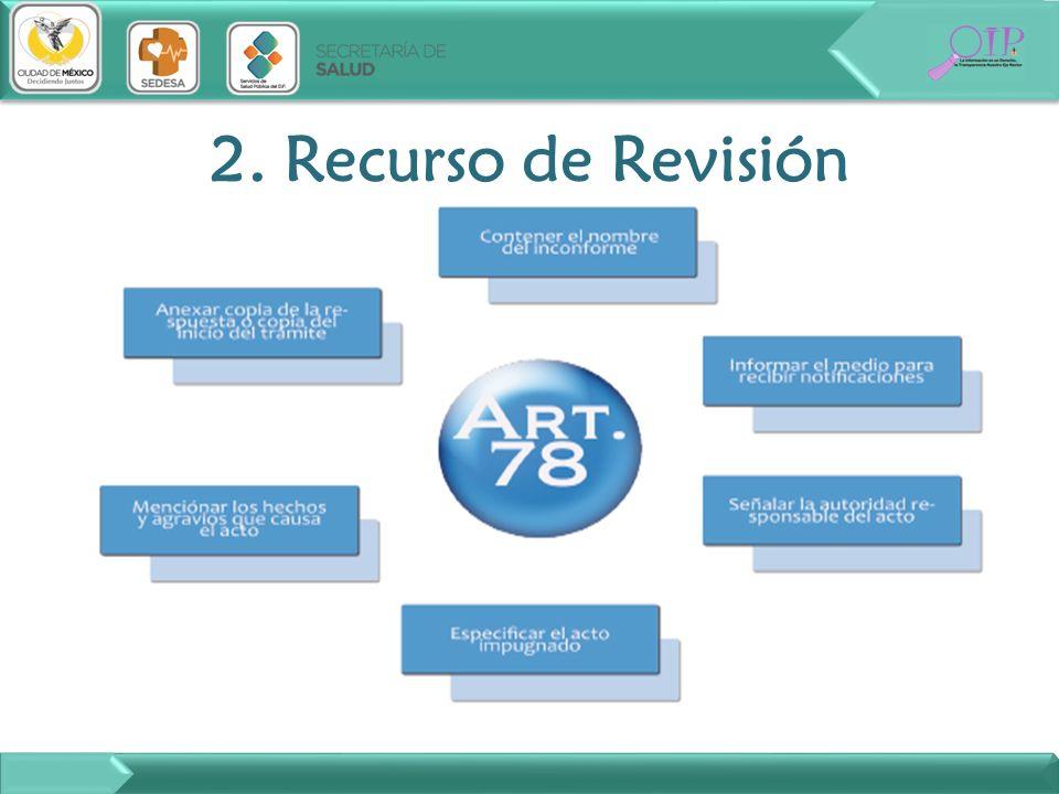 2. Recurso de Revisión