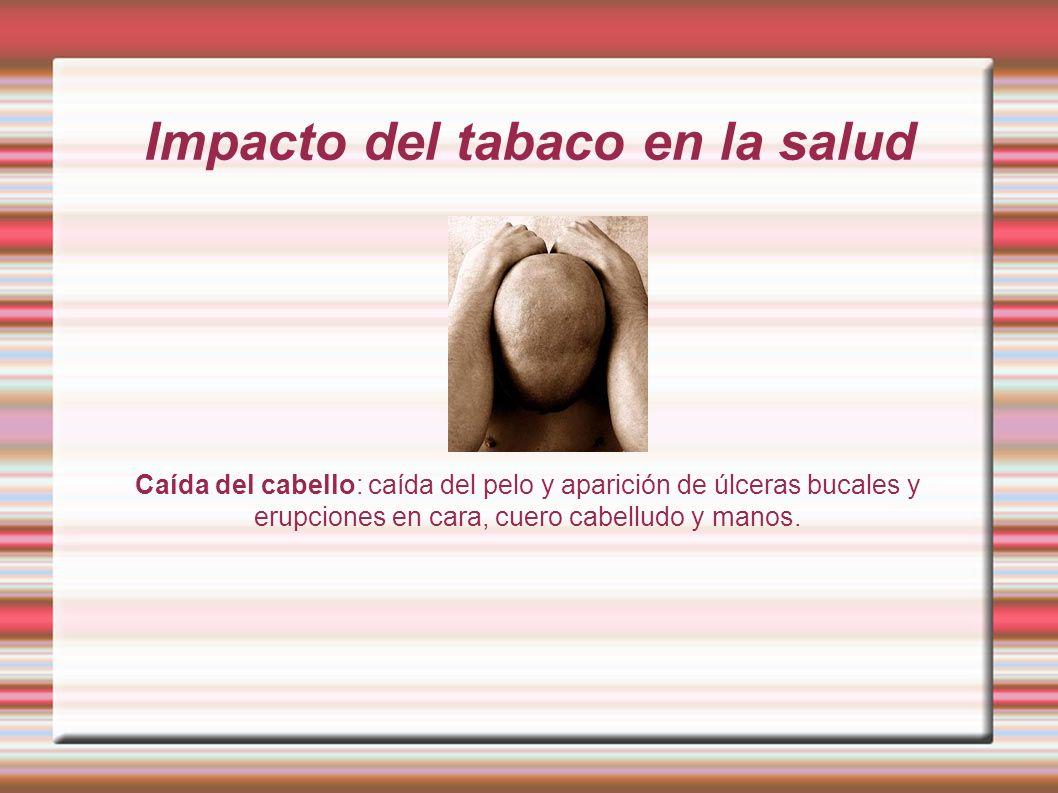 Impacto del tabaco en la salud