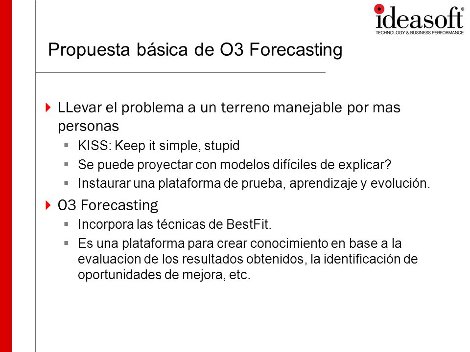 Propuesta básica de O3 Forecasting