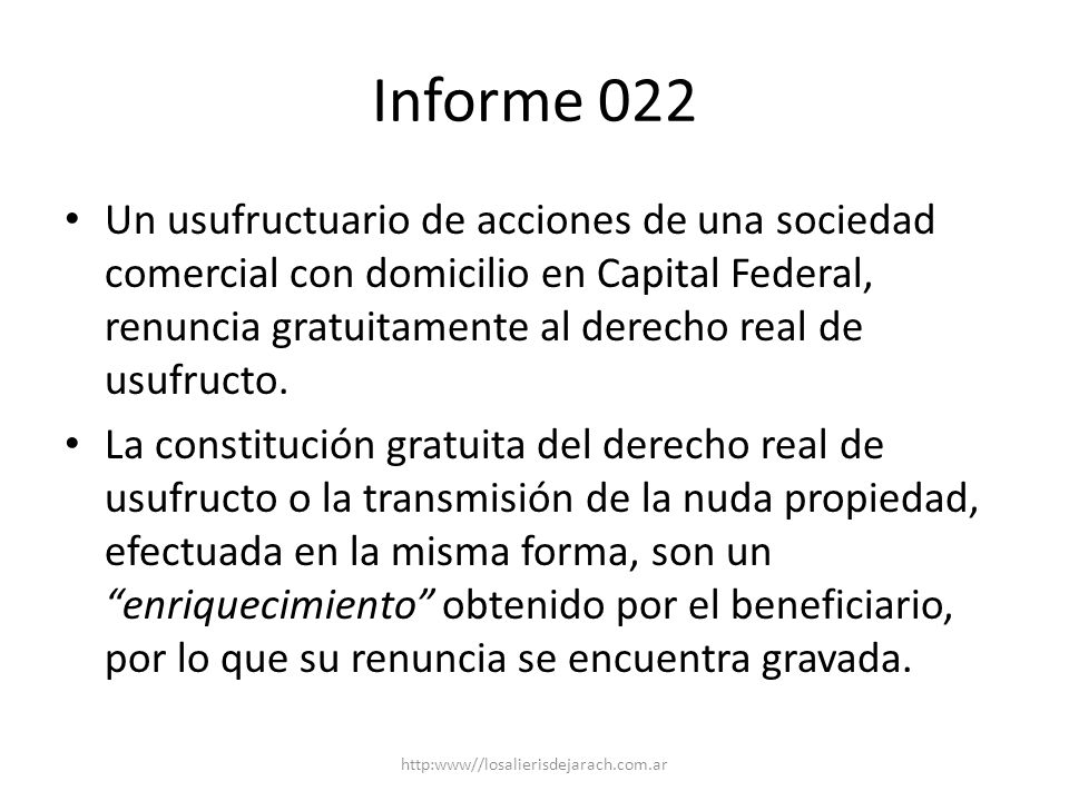 Informe 022