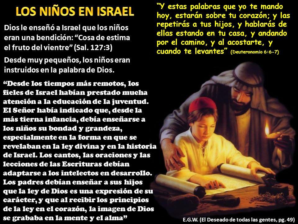 LOS NIÑOS EN ISRAEL