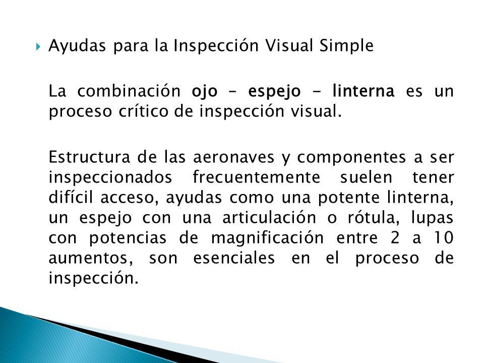 Ayudas para la Inspección Visual Simple