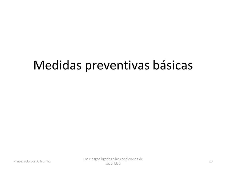 Medidas preventivas básicas