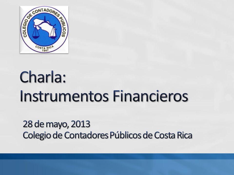 Charla: Instrumentos Financieros
