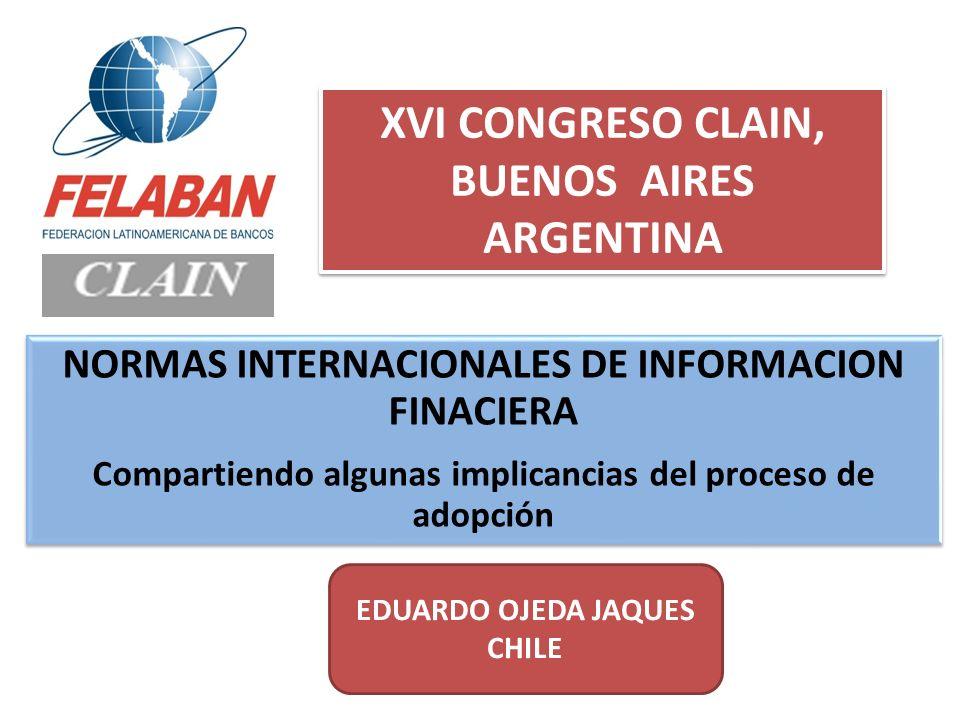 XVI CONGRESO CLAIN, BUENOS AIRES ARGENTINA