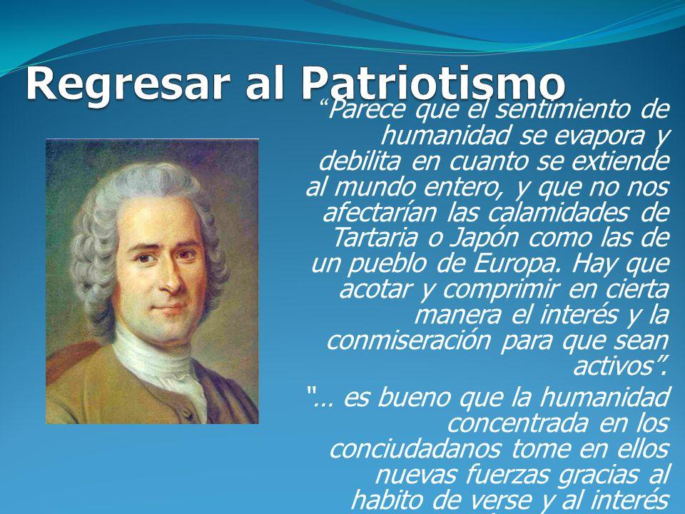 Regresar al Patriotismo