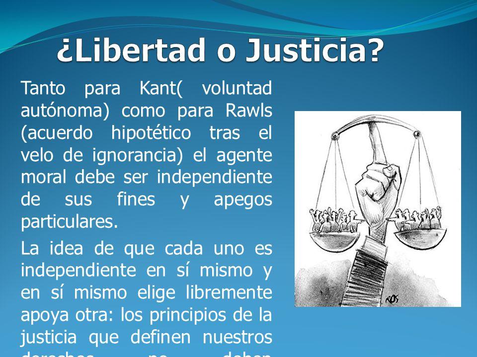 ¿Libertad o Justicia