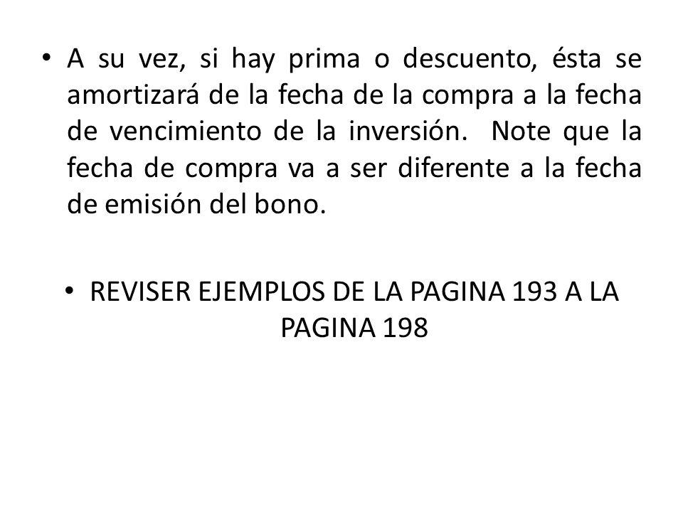 REVISER EJEMPLOS DE LA PAGINA 193 A LA PAGINA 198