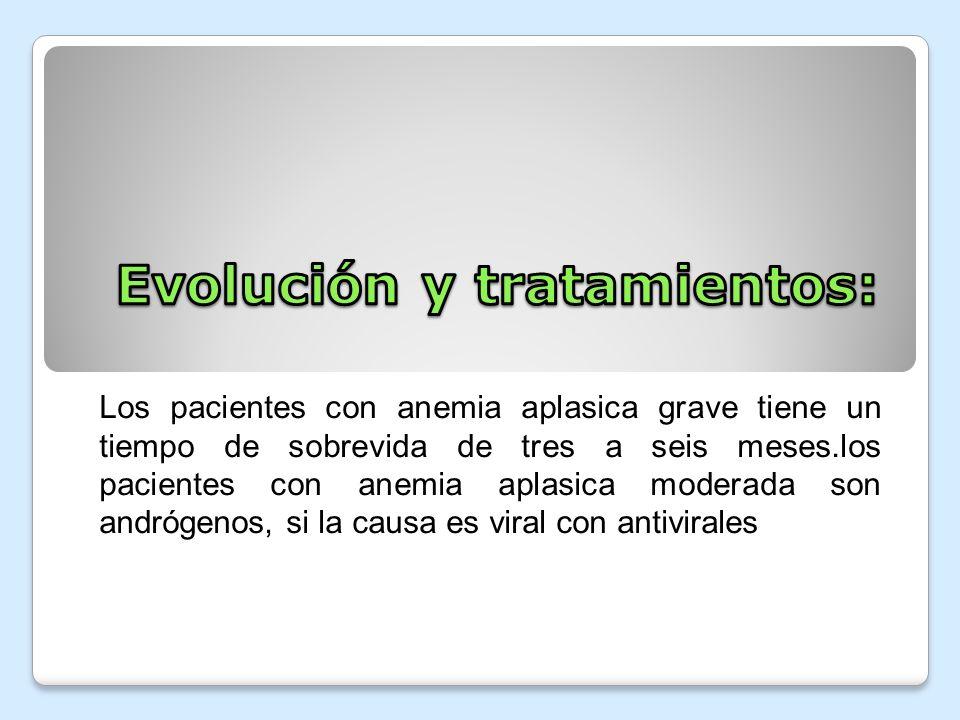 Evolución y tratamientos: