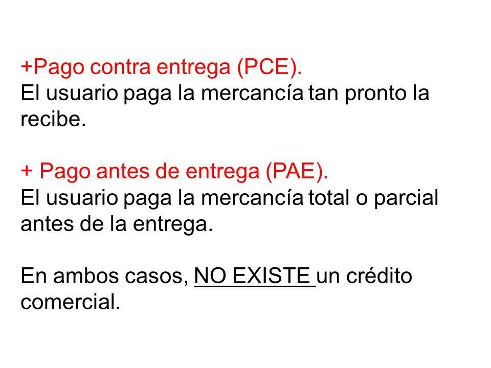 +Pago contra entrega (PCE)