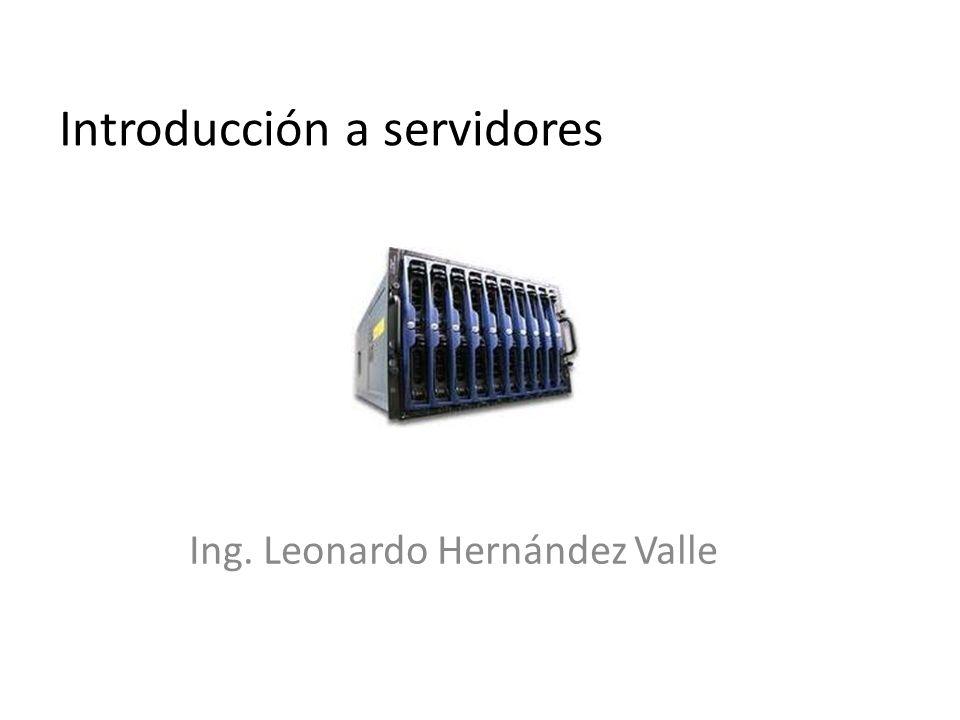 Introducción a servidores