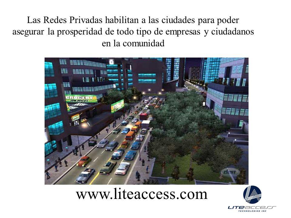 Las Redes Privadas habilitan a las ciudades para poder asegurar la prosperidad de todo tipo de empresas y ciudadanos en la comunidad