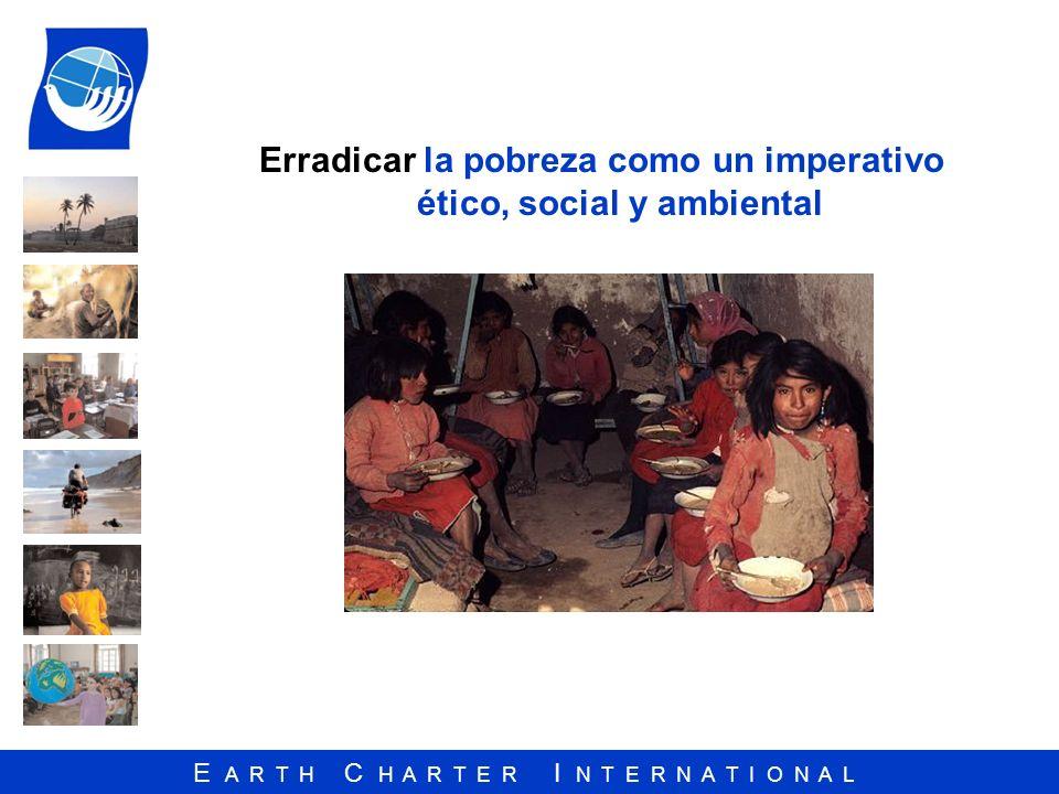 Erradicar la pobreza como un imperativo ético, social y ambiental