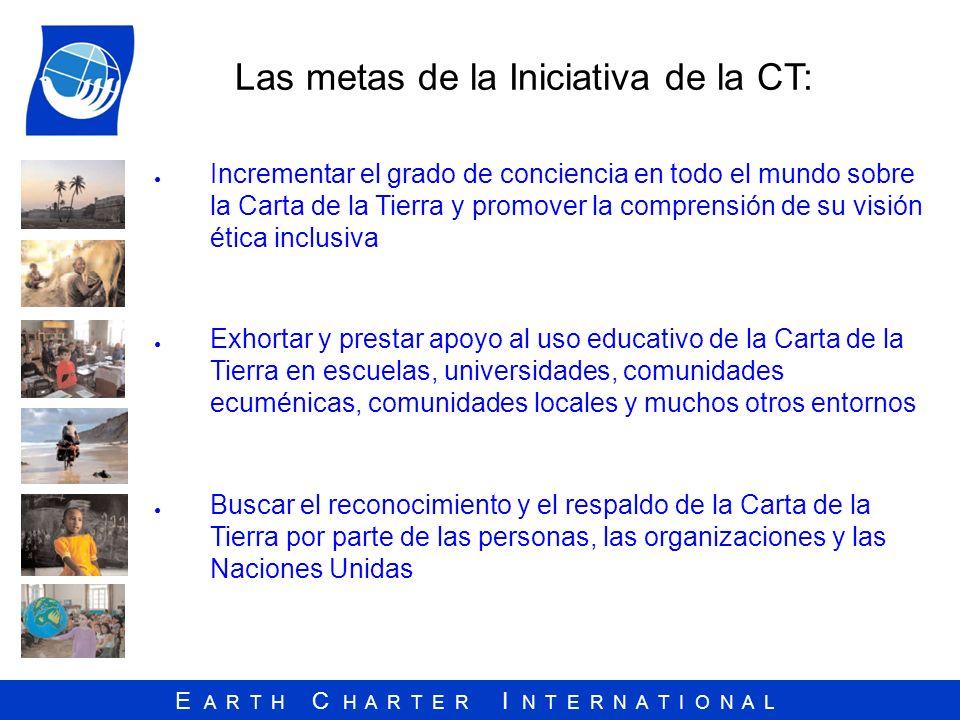 Las metas de la Iniciativa de la CT: