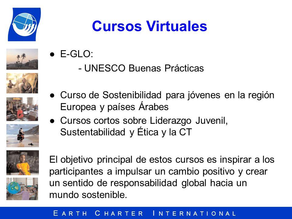 Cursos Virtuales E-GLO: - UNESCO Buenas Prácticas