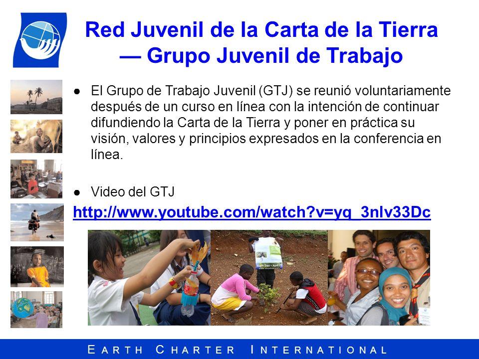 Red Juvenil de la Carta de la Tierra — Grupo Juvenil de Trabajo