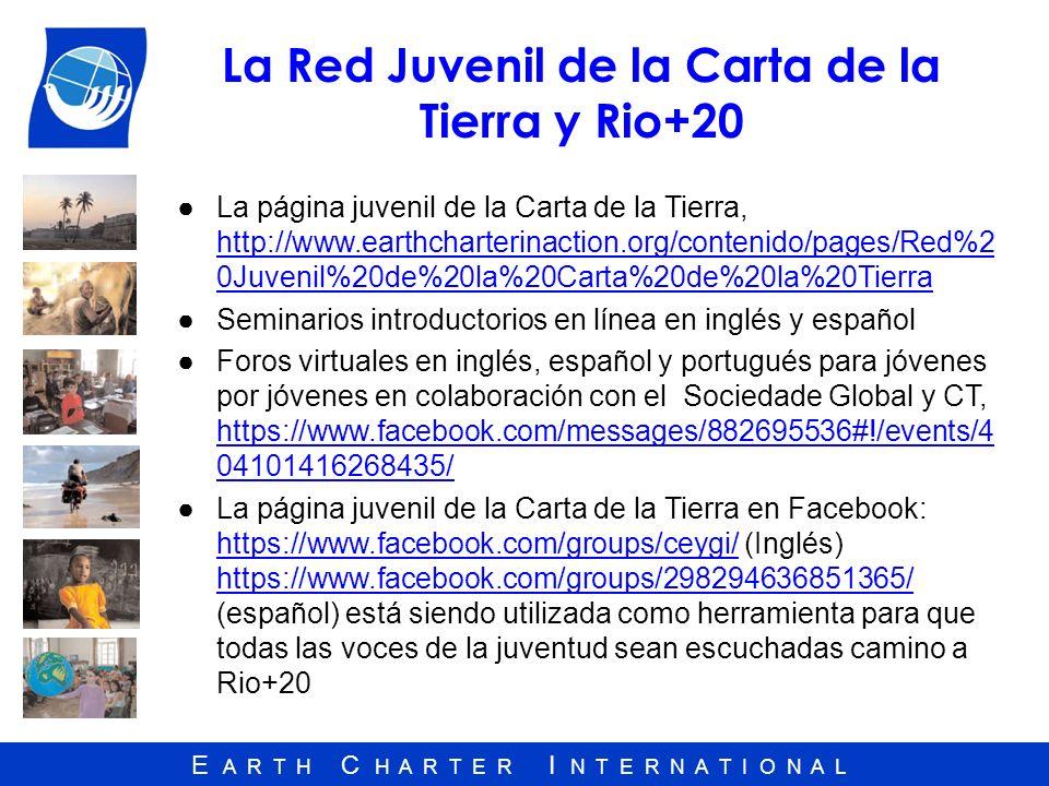 La Red Juvenil de la Carta de la Tierra y Rio+20
