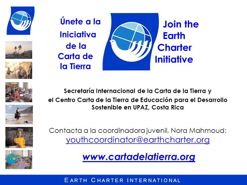 Secretaría Internacional de la Carta de la Tierra y