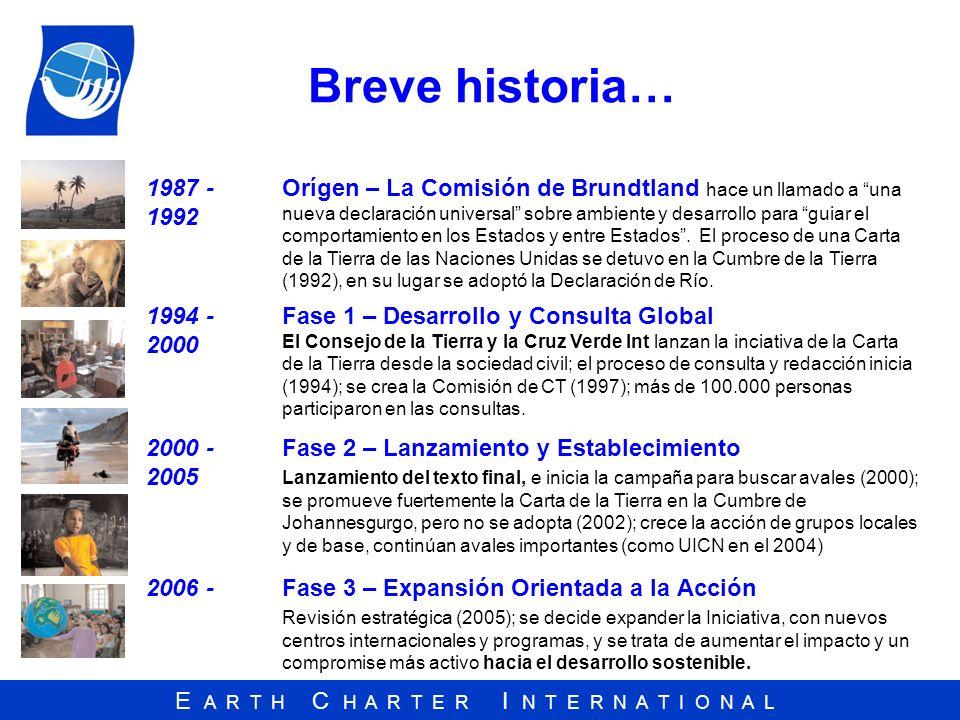 Breve historia… 1987 -1992.