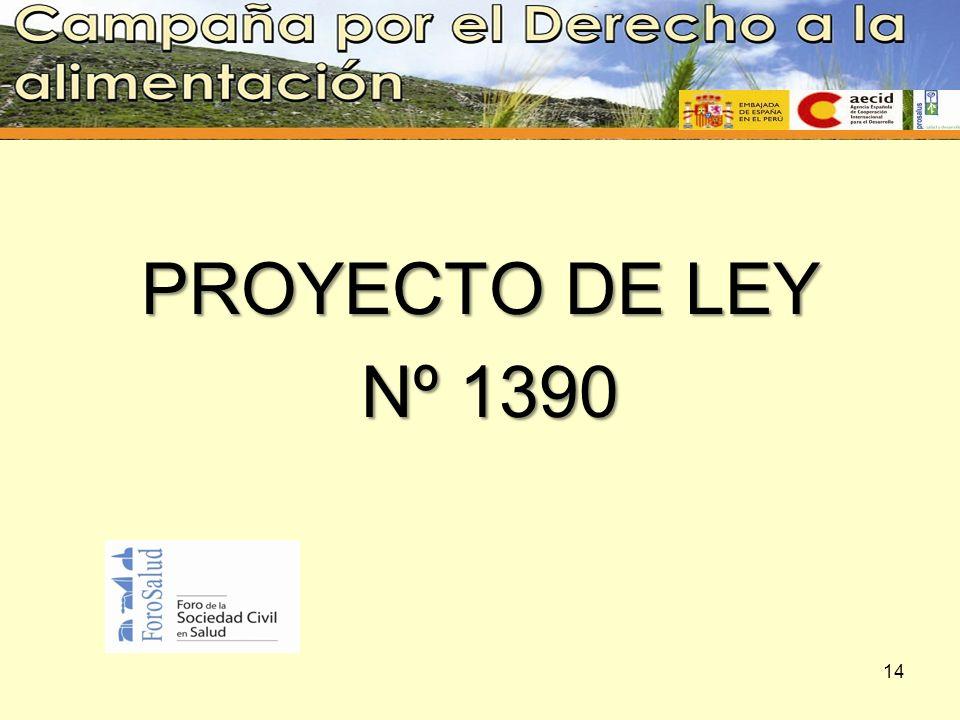 PROYECTO DE LEY Nº 1390 14