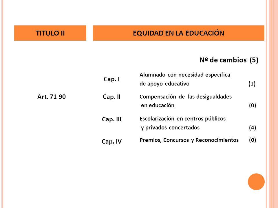 EQUIDAD EN LA EDUCACIÓN