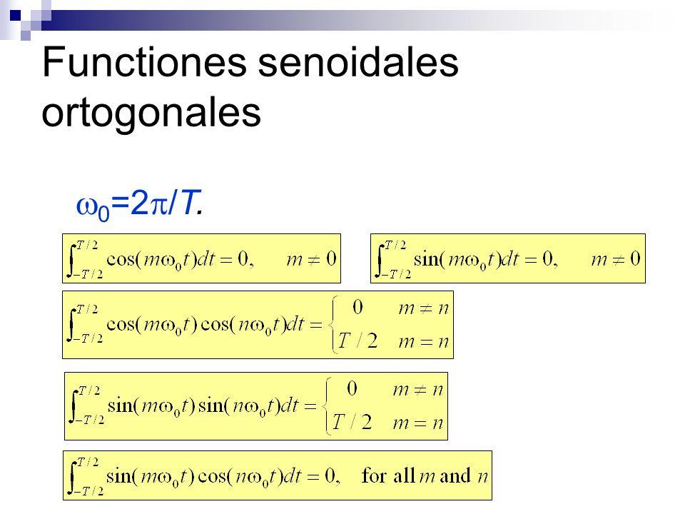 Functiones senoidales ortogonales