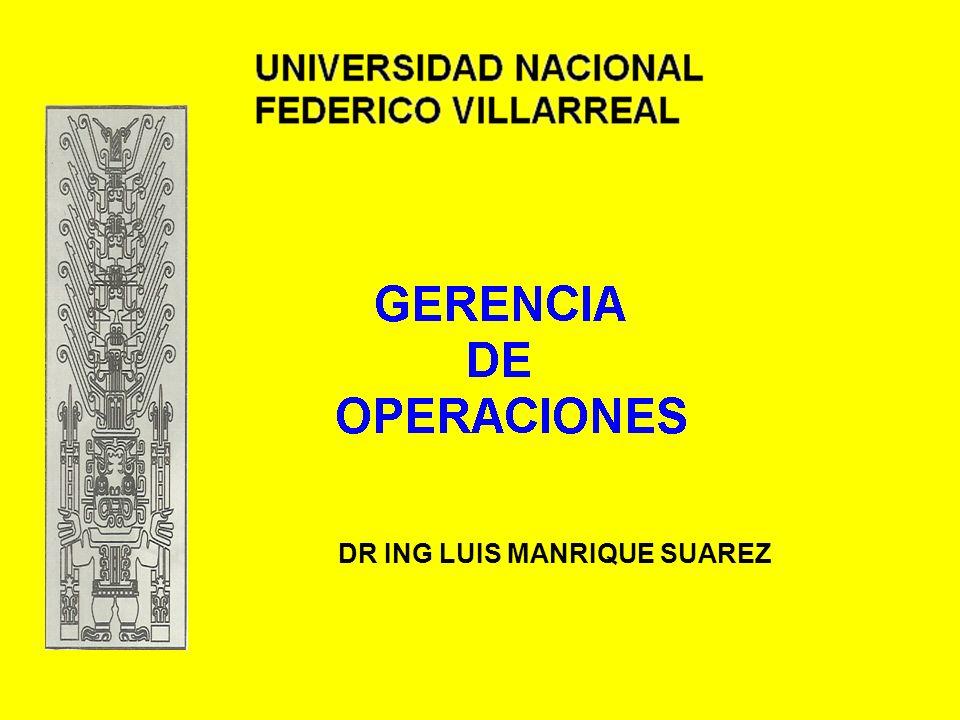 DR ING LUIS MANRIQUE SUAREZ