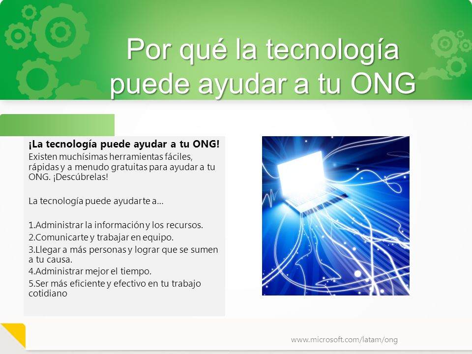 Por qué la tecnología puede ayudar a tu ONG