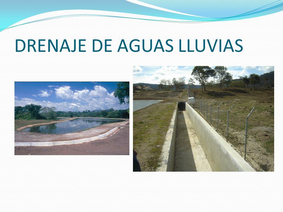 DRENAJE DE AGUAS LLUVIAS