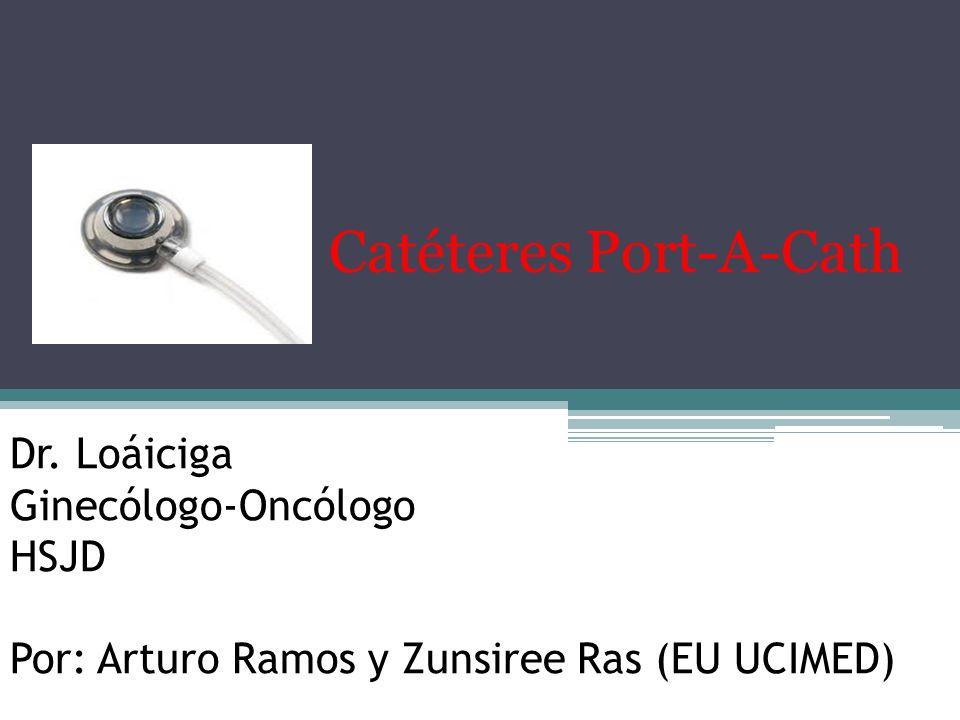 Catéteres Port-A-Cath