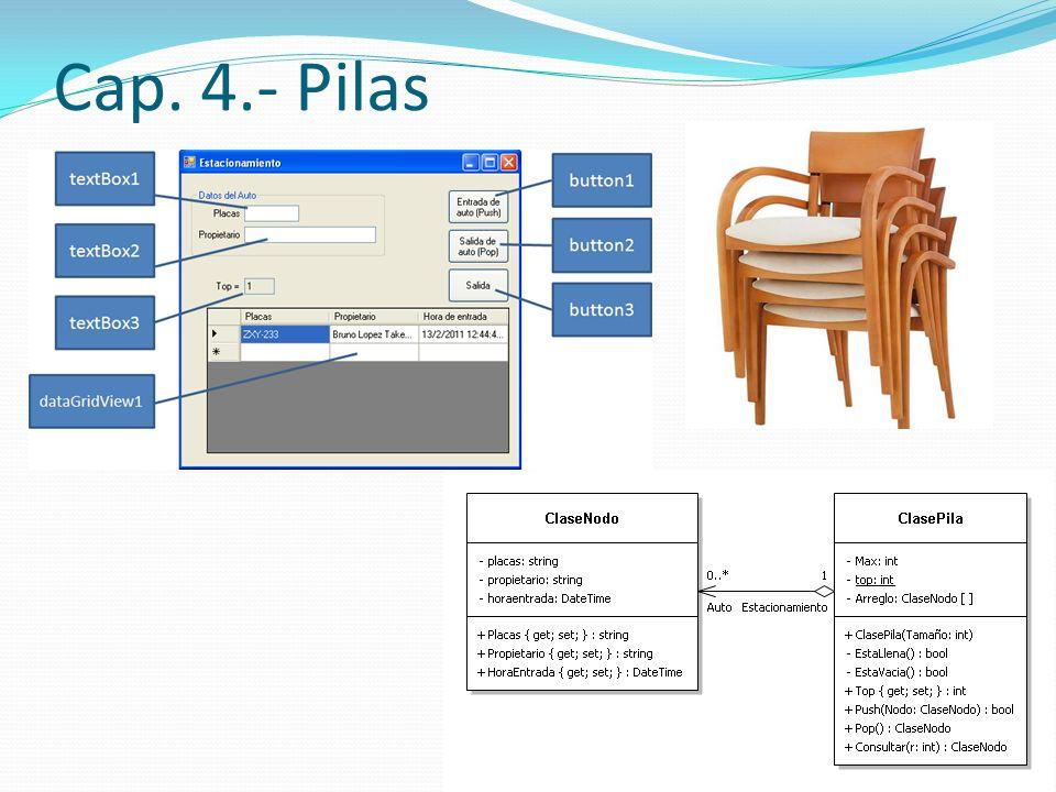 Cap. 4.- Pilas