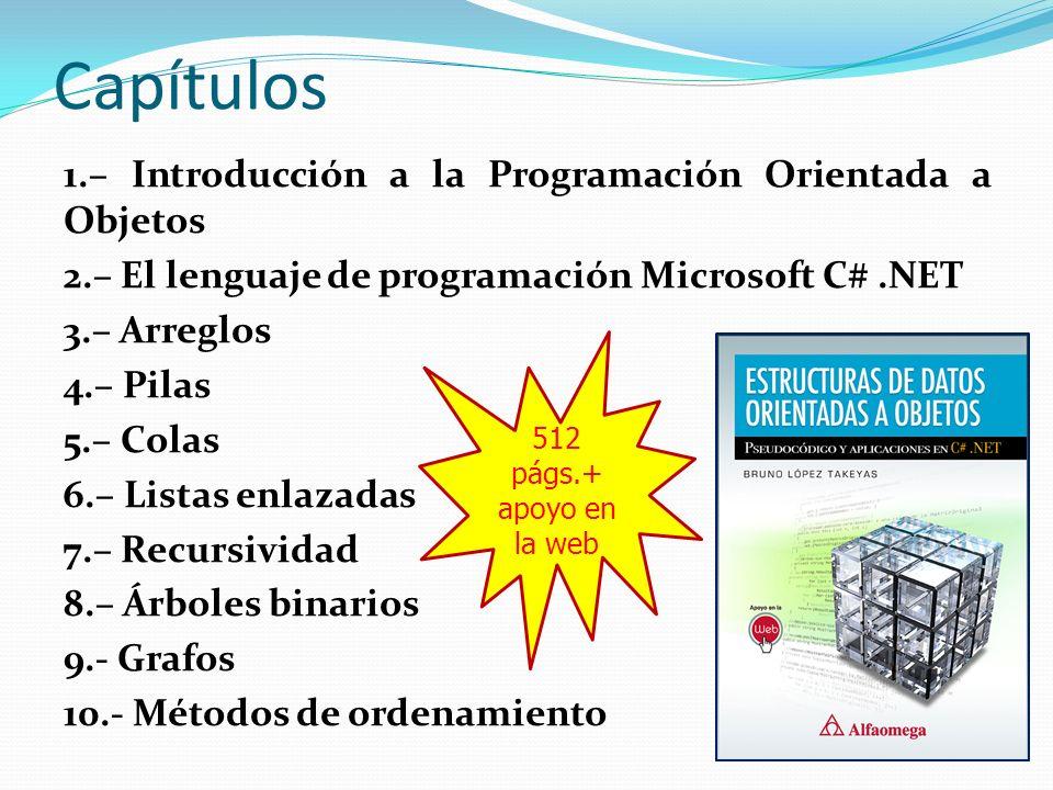 Capítulos 1.– Introducción a la Programación Orientada a Objetos