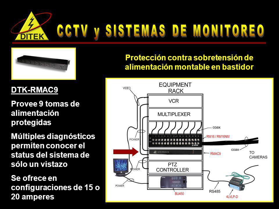CCTV y SISTEMAS DE MONITOREO