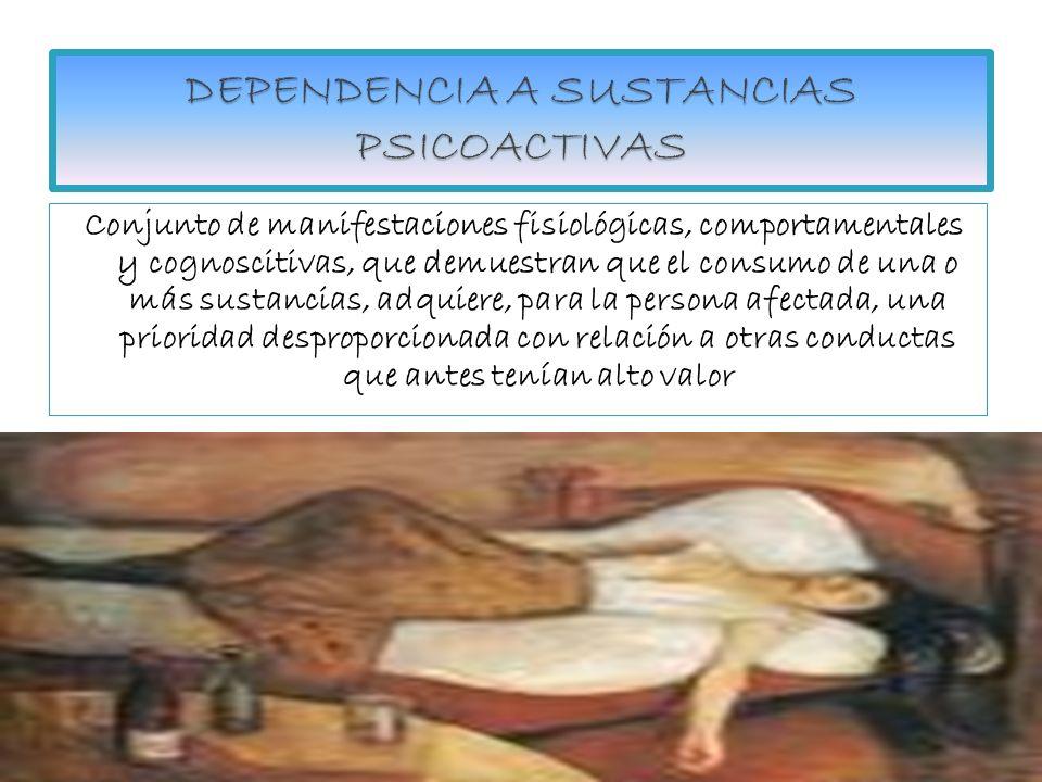 DEPENDENCIA A SUSTANCIAS PSICOACTIVAS