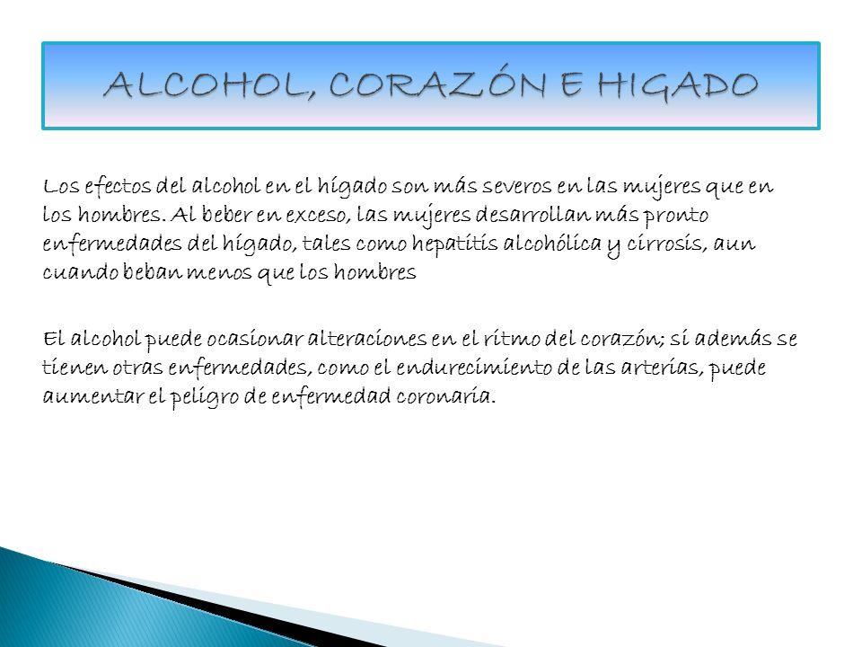 ALCOHOL, CORAZÓN E HIGADO