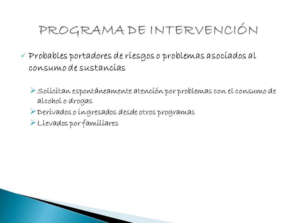 PROGRAMA DE INTERVENCIÓN