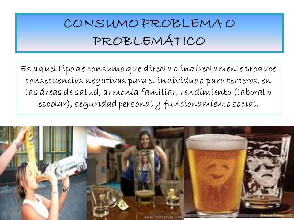 CONSUMO PROBLEMA O PROBLEMÁTICO