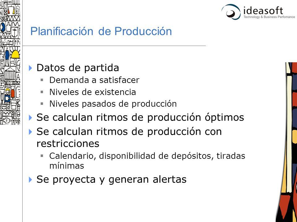 Planificación de Producción